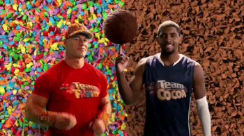 Fruity Pebbles TV Spot Featuring John Cena, Kyrie Irving - 587 commercial airings