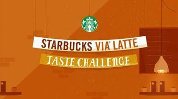 Starbucks Via Latte Taste Challenge TV Spot