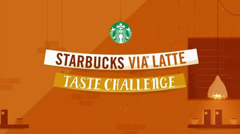 Starbucks Via Latte Taste Challenge TV Spot
