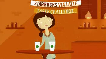 Starbucks Via Latte Taste Challenge TV Spot - Thumbnail 3