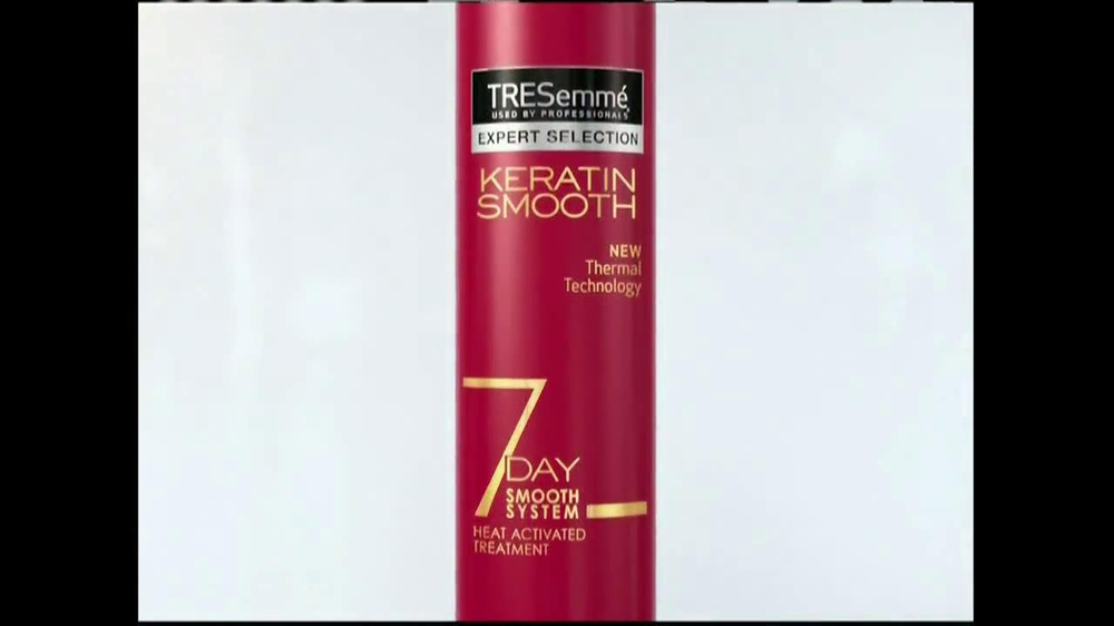 Tresemme Keratin Smooth7 Day Smooth System Tv Spot Ispot Tv