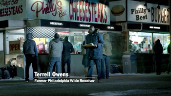 Carl's Jr. Philly Cheesesteak Burger TV Spot Featuring Terrell Owens - Thumbnail 1