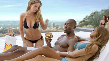 Carl's Jr. Philly Cheesesteak Burger TV Spot Featuring Terrell Owens