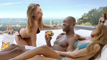 Carl's Jr. Philly Cheesesteak Burger TV Spot Featuring Terrell Owens - Thumbnail 6
