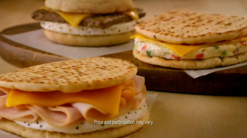 Dunkin' Donuts Sliced Turkey Breakfast Sandwich TV Spot, '400 Calories' - Thumbnail 7