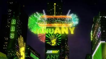 Subway TV Spot, 'JanuANY' Featuring Pele - Thumbnail 1