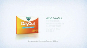 Vicks Dayquil TV Spot, 'Sick Day' Featuring Ted Ligety - Thumbnail 10