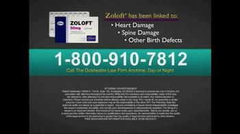 Goldwater Law Firm TV Spot, 'Zoloft' - Thumbnail 4