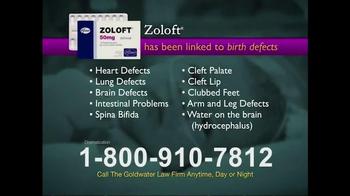 Goldwater Law Firm TV Spot, \'Zoloft\'