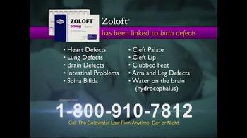 Goldwater Law Firm TV Spot, 'Zoloft' - Thumbnail 2