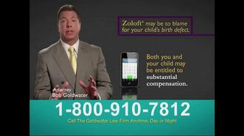 Goldwater Law Firm TV Spot, 'Zoloft' - Thumbnail 3