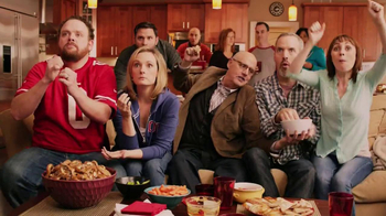 Sabra Hummus TV Spot, 'Football Party' Featuring Jeffrey Tambor