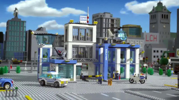 LEGO City Police Station TV Spot, 'Crooks Are Breaking Out'