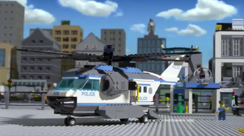LEGO City Police Station TV Spot, 'Crooks Are Breaking Out' - Thumbnail 7