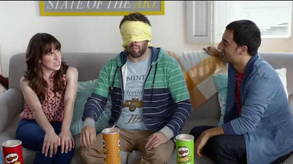 Pringles TV Commercial, 'Blindfold'