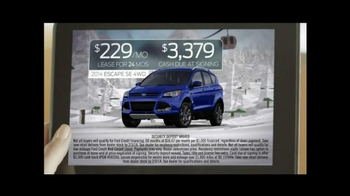 2014 Ford Escape TV Spot, 'Weather' - Thumbnail 10