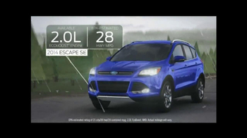 2014 Ford Escape TV Spot, 'Weather' - Thumbnail 6