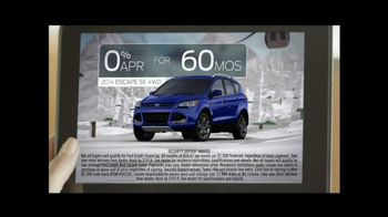 2014 Ford Escape TV Spot, 'Weather' - Thumbnail 9