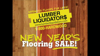 Lumber Liquidators New Year's Flooring Sale TV Spot - Thumbnail 3