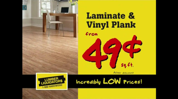 Lumber Liquidators New Year's Flooring Sale TV Spot - Thumbnail 6