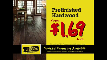 Lumber Liquidators New Year's Flooring Sale TV Spot - Thumbnail 8