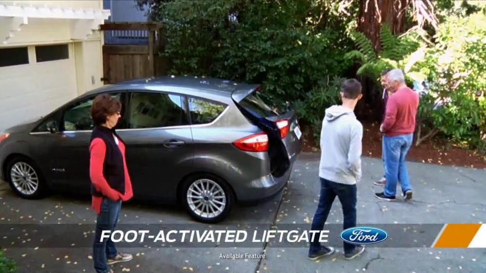 Ford C-Max TV Commercial, 'Switch: Sal & Family'