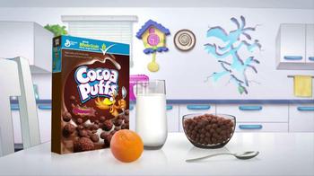 Cocoa Puffs TV Spot, 'Chocolate Milk' - Thumbnail 9