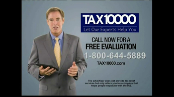 TAX10000 TV Spot, 'Free Evaluation' - Thumbnail 10