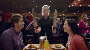 Outback Steakhouse TV Spot, 'Now That's a Steak Knife'