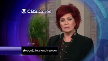 CBS Cares TV Spot, 'Bullying' Featuring Sharon Osbourne