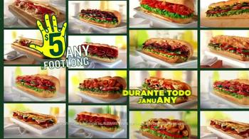 Subway TV Spot, 'JanuANY' Con Pelé y Michael Phelps - Thumbnail 9