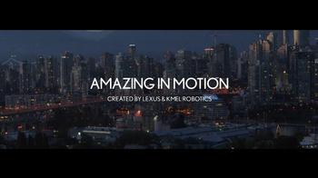 Lexus TV Spot, 'Amazing in Motion' - Thumbnail 1