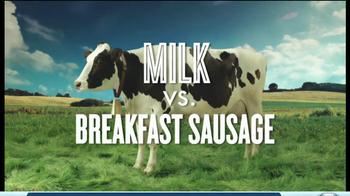 Got Milk? TV Spot, 'Fight Club: Milk vs. Breakfast Sausage' - Thumbnail 2