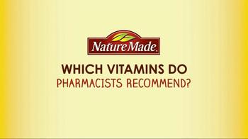 Nature Made TV Spot, 'Pharmacist Recommended' - Thumbnail 1