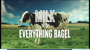 Got Milk? TV Spot, 'Fight Club: Milk vs. Everything Bagel' - Thumbnail 2