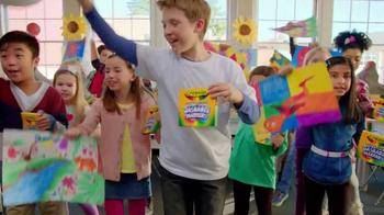 Crayola Ultra-Clean Markers TV Spot, 'Classroom' - Thumbnail 10