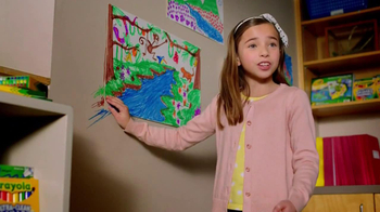 Crayola Ultra-Clean Markers TV Spot, 'Classroom'