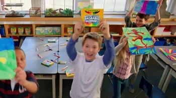 Crayola Ultra-Clean Markers TV Spot, 'Classroom' - Thumbnail 5