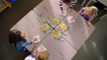 Crayola Ultra-Clean Markers TV Spot, 'Classroom' - Thumbnail 6