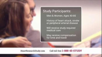 Heart Research Study TV Spot, 'Investigational Medication' - Thumbnail 9