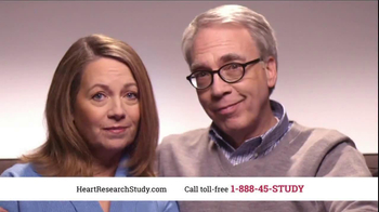 Heart Research Study TV Spot, 'Investigational Medication'