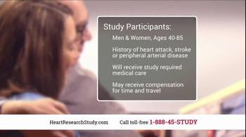 Heart Research Study TV Spot, 'Investigational Medication' - Thumbnail 8