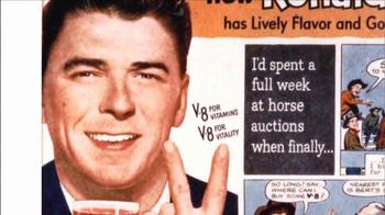 V8 Juice TV Spot, 'How Ronald Reagan Discovered V8' - Thumbnail 9