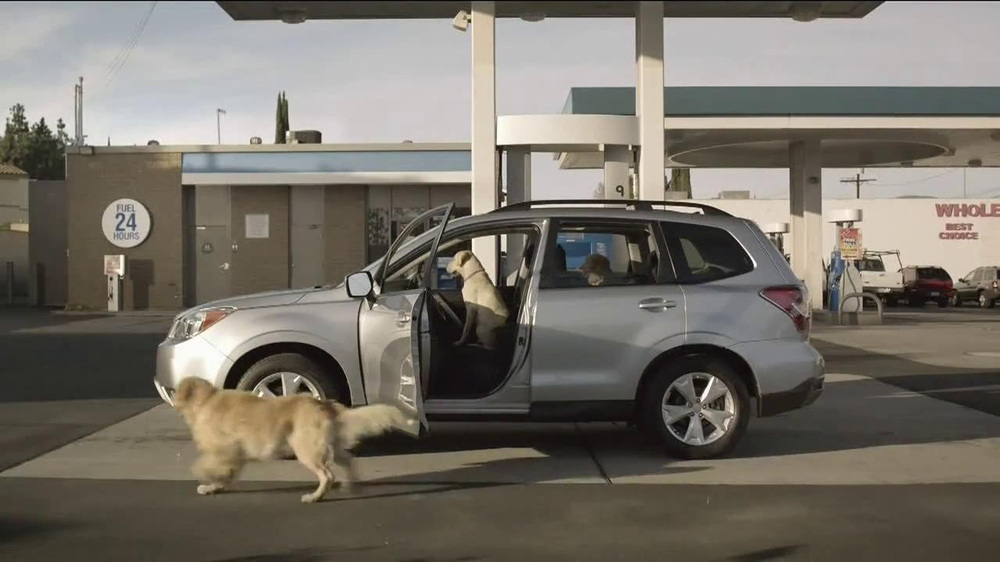 Subaru TV Commercial, 'Dog Tested: Gas Station' - iSpot.tv