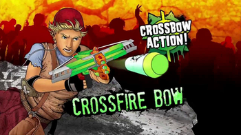 Nerf Zombie Strike Crossfire Bow TV Spot - Thumbnail 6