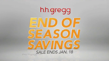 h.h. gregg End of Season Savings TV Spot