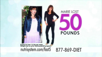 Nutrisystem Fast 5 TV Spot, 'First Five'  Featuring Marie Osmond - Thumbnail 4