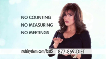 Nutrisystem Fast 5 TV Spot, 'First Five'  Featuring Marie Osmond - 615 commercial airings