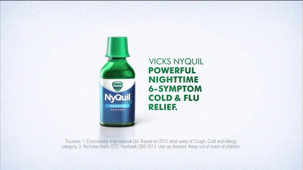 Vicks NyQuil TV Commercial Featuring Ted Ligety