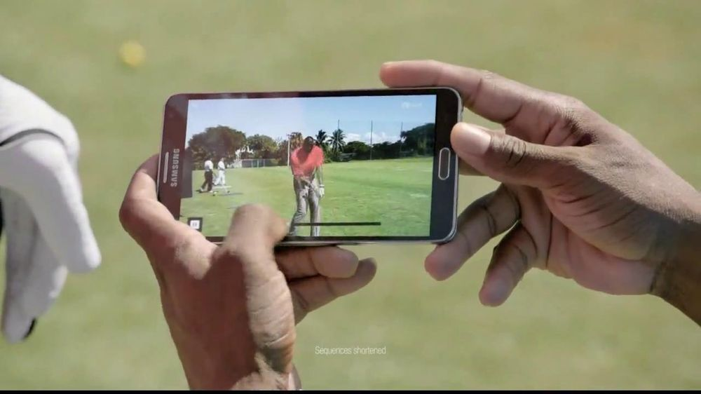 Samsung Galaxy Note 3 TV Commercial, 'Golf Lesson' Feat. LeBron James, Kevin Hart